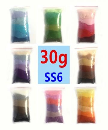 30g-Color-Gradient-Wool-Felt-Tool-Fiber-Material-Needle-Craft-Felting-Starter-Roving-DIY-Spinning-Needlework-Sewing-Accessories-