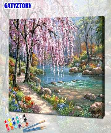 GATYZTORY-DIY-Paint-By-Numbers-For-Adults-Children-HandPainted-Oil-Painting-Landscape-Picture-Paint-Home-Decoration-Custom-Gift-