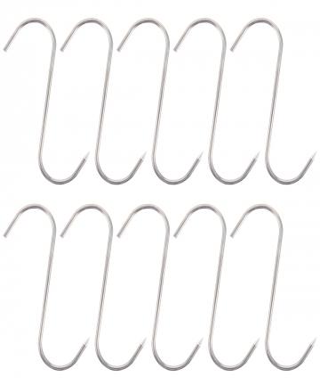 10Pcs-Long-Pointed-S-Hooks-Rack-Butcher-Meat-Stainless-Steel-Hanger-1215cm-Kitchen-Hooks-1005001992322466
