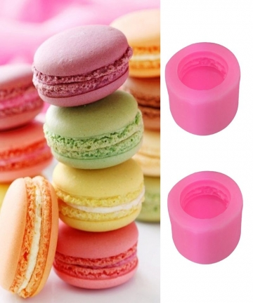 Food-Grade-Silicone-3D-Macaron-Shape-DIY-Chocolate-Mold-Fondant-Candy-Soap-Polymer-Clay-Crafting-Mould-Decorating-Baking-Tool-40