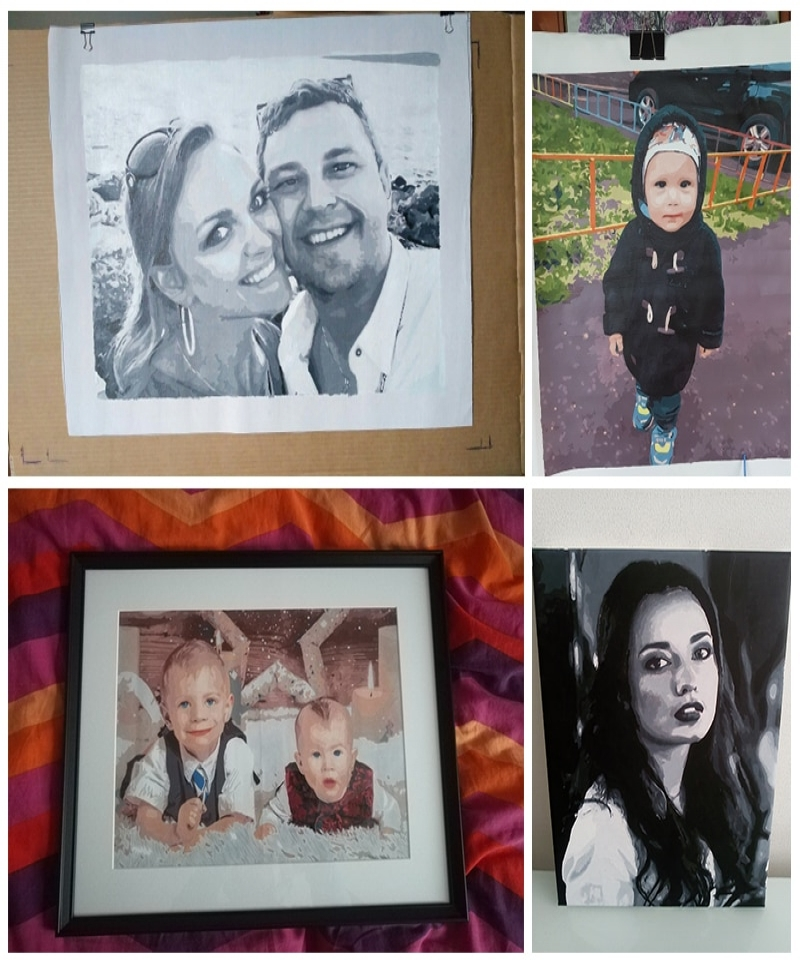AZQSD-Paint-By-Numbers-Customized-Photo-Oil-Drawing-Canvas-Pictures-Portrait-Kits-Wedding-Family-Children-Photos-DIY-Gift-328675