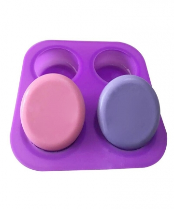 4-Cavity-Round-Circles-Silicone-Soap-Molds-Cake-Decorating-Tools-Chocolate-Fondant-Muffin-Baking-Soap-Molds-Heat-Resistant-40007