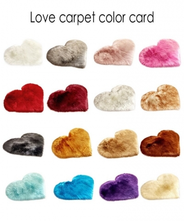 Shaggy-Carpet-Wool-Faux-Fluffy-Mats-Artificial-Sheepskin-Hairy-Mat-Love-Heart-Rugs-NO-Lint-Carpet-For-Living-Room-30x3040x50cm-1