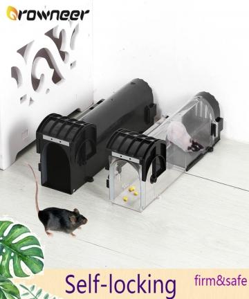 Smart-Self-locking-Mousetrap-Safe-Firm-Transparent-Household-Mouse-Catcher-Plastic-Reusable-Humane-Indoor-Outdoor-Rat-Trap-10050