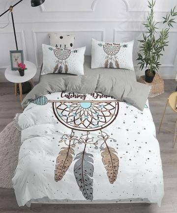 Dream-Catcher-Bedding-Set-Elegant-Bohemian-Duvet-Cover-Queen-240x220-Ethnic-Quilt-Cover-Single-Double-King-Comforter-Bed-Cover-1