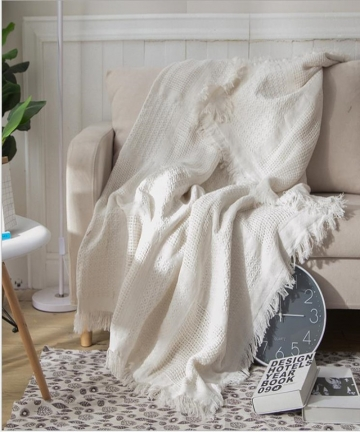 Cutelife-White-Grid-Cotton-Knitted-Throw-Blanket-Double-Sided-Travel-Robe-Throws-Nordic-Sofa-Bed-Living-Room-Blanket-Decorative-