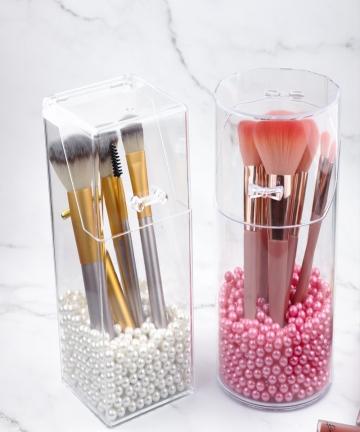 Acrylic-Cosmetic-Brush-Make-up-Brush-Storage-Box-Makeup-Cosmetic-Holder-Pen-Holder-Rack-Nail-Polish-Organizer-Make-Up-Tools-4001