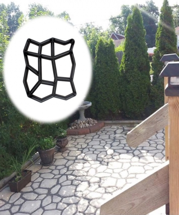 Garden-Pavement-Mold-Garden-Walk-Pavement-Concrete-Mould-DIY-Manually-Paving-Cement-Brick-Stone-Road-Concrete-Molds-Path-Mate-10