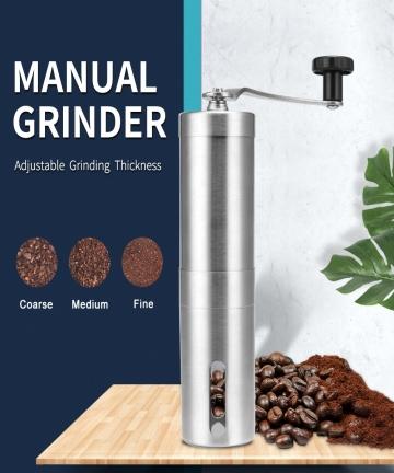Silver-Coffee-Grinder-Mini-Stainless-Steel-Hand-Manual-Handmade-Coffee-Bean-Burr-Grinders-Mill-Kitchen-Tool-Grinders-40009321970