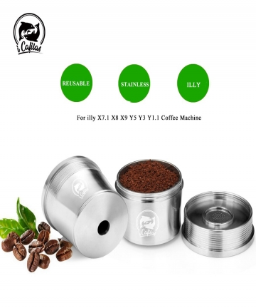 ICafilas-for-illy-Coffee-Machine-Refillable-Filters-Stainless-Steel-Reusable-Metal-Capsule-Tamper-Spoon-32998134418