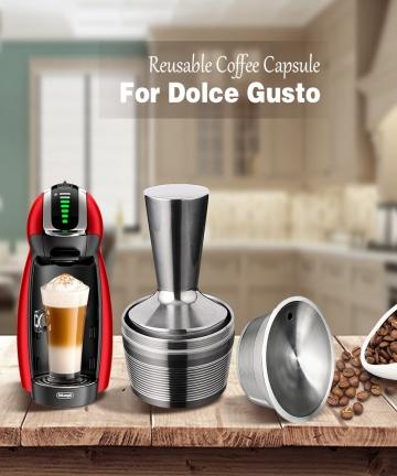 3-Pods-1-Tamper-Dolce-Gusto-Reusable-Capsule-Recargable-Nescafe-Capsulas-Metal-Dolce-Gusto-Filter-Caps-Dolce-Gusto-Reutilizables