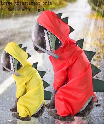 Reflective-Cartoon-RainCoat-Summer-Dog-Clothes-For-Small-Dogs-Nylon-Puppy-Waterproof-Rain-Coat-Ropa-Perro-Chihuahua-Pet-Clothes-