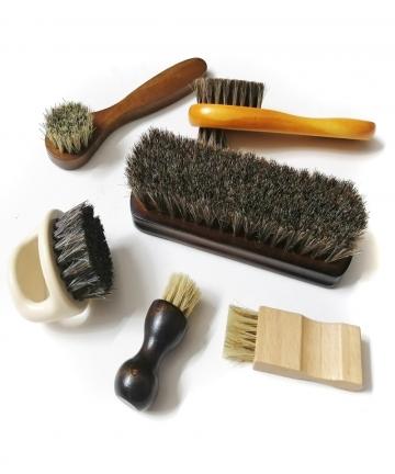 6-Pcs-set-Horse-hair-Pig-Bristle-shoe-brush-oil-polish-tool-scrub-suede-fur-clear-leather-shoes-ash-33061855839