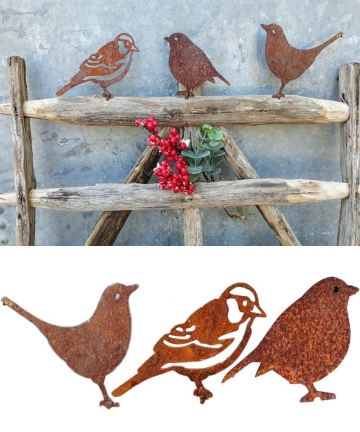 Rusty-Metal-Bird-Silhouettes-Garden-Fence-Decor-Woodpecker-Robin-Steel-Country-Yard-Art-Gardening-Decoration-Metal-Bird-10050023