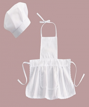 Cute-Baby-Chef-ApronHat-For-Kids-Costumes-Cotton-Blended-Chef-Baby-White-Cook-Costume-Photos-Photography-Prop-Newborn-Hat-Apron-
