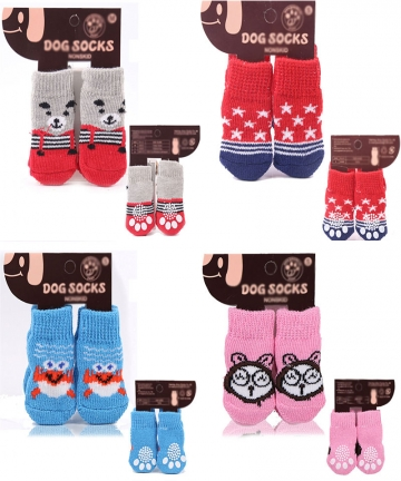 4Pcsset-Autumn-Winter-Pet-Dog-Socks-Anti-Slip-Knitted-Small-Dogs-Shoes-Thick-Warm-Paw-Protector-Cute-Puppy-Cat-Indoor-Wear-Boot-