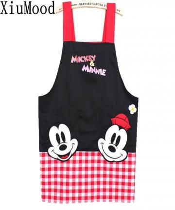 real-crafts-avental-de-cozinha-divertido-black-mickey-aprons-kitchen-accessories-fashion-overalls-home-apron-japan-cartoon-96743