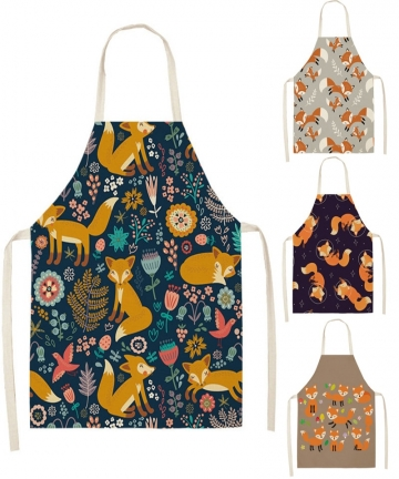 Fox-Aprons-Unisex-Dinner-Party-Linen-Nordic-Cooking-Bib-Funny-Pinafore-Cleaning-Aprons-Home-Accessory-4000508216102