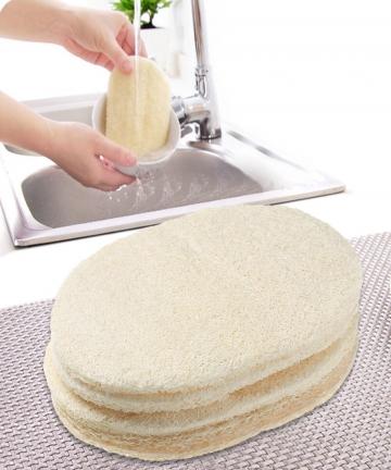 1510pcs-Natural-Loofah-Dish-Washing-Cloth-Pot-Bowl-Brush-Double-sided-Cleaning-Microfibre-Kitchen-Decontamination-Sponge-Tools-1
