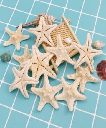 7-10cm-Bleach-White-Natural-Finger-Starfish-Craft-Decoration-Natural-Sea-Star-DIY-Beach-Cottage-Wedding-Decor-4000188207410