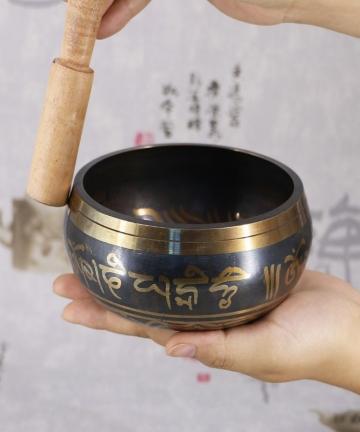 Tibetan-Bowl-Sing-Bowl-Nepalese-Buddhist-Tibetan-Chanting-Yoga-Meditation-Bowl-Buddhist-Sound-Therapy-Bowl-Copper-Religion-Carft
