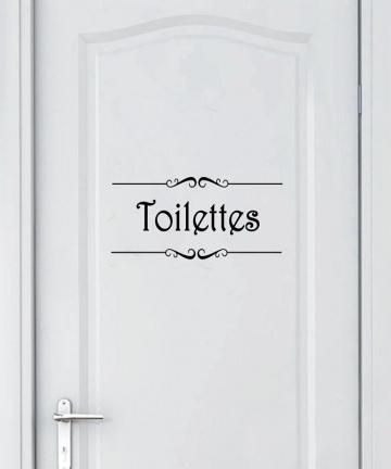 Porte-Salle-de-bain-et-Toilettes-Wall-Sticker-French-Bathroom-Toilet-Door-Sticker-Mural-Decals-Vinyl-Wall-Sticker-Home-Decor-330